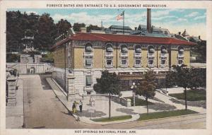Fordyce Baths and Entrance to U. S. Government Reservation, Hot Springs Natio...
