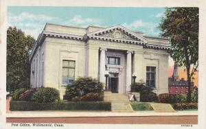 Post Office, Willimantic, Connecticut, 30-40s