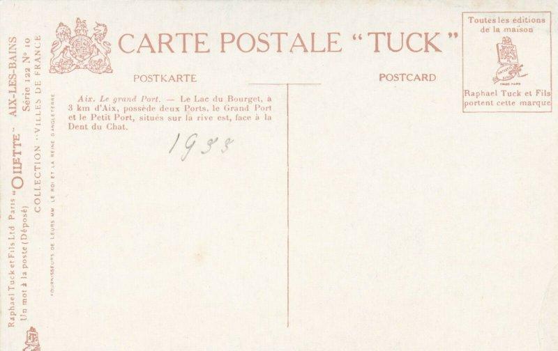 AIX-LES-BAINS , France, 00-10s; Le Grand Port ; TUCK Serie 122 No 10