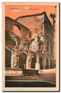 Postcard Old Antique Theater in Orange