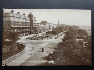Yorkshire: Harrogate PROSPECT HOTEL & TERRACE c1911 RP
