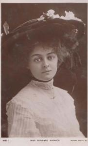Miss Adrienne Augarde Rotary RPC Postcard