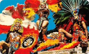 Mexico Aztec Native Costumes Trajes Regionales Aztecas