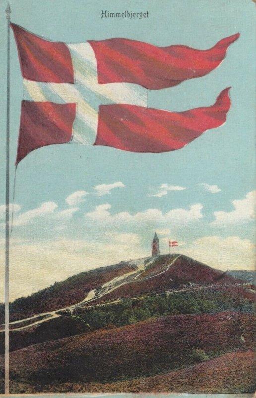Flag ; Himmeljerget , Denmark , 1909