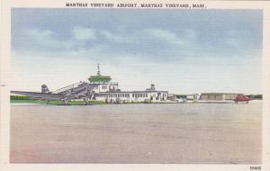 MARTHA'S VINEYARD, Massachusetts, 1930-40s; Martha's Vineyard Airport