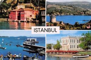 Turkey Istanbul Bogazicinde Yalilar Rumelihisari Castle Boats Bateaux
