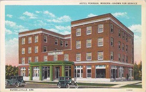 Arkansas Rusville Hotel Pearson