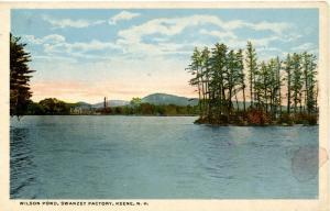 NH - Keene. Wilson Pond, Swanzey Factory