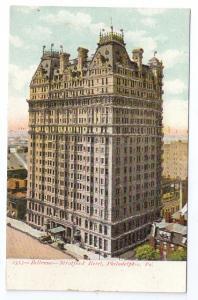 Bellevue Stratford Hotel Philadelphia UND Glitter PC ca 1907