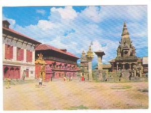 Bhaktapur Durbar Square, NEPAL , 70-90s