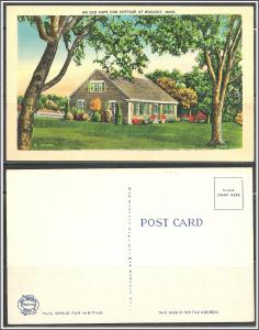 Massachusetts, Waquoit Old Cape Cod Cottage - [MA-548]