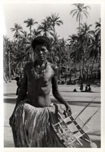 Papua New Guinea, Real Photo Native Papuas, Native Woman (1930s) RP (28)