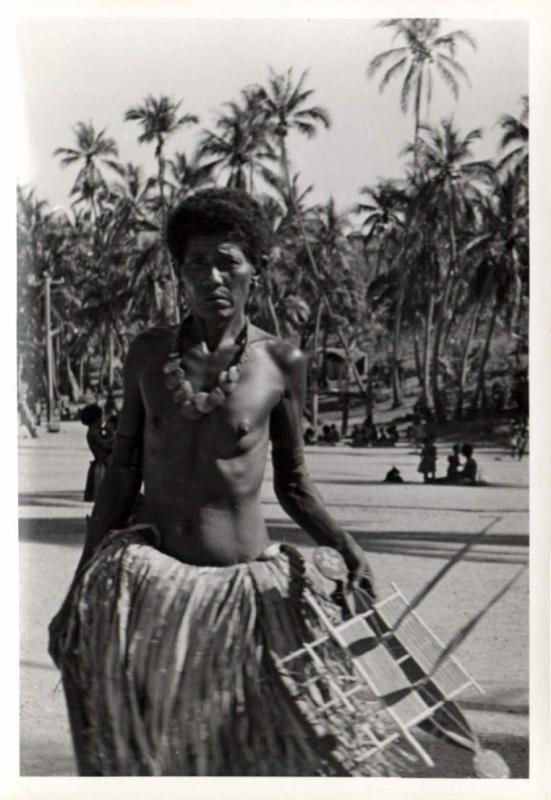 Papua New Guinea, Real Photo Native Papuas, Native Woman (1930s) RP (28)