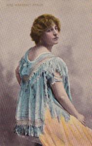 Miss Margaret Anglin Broadway Actress Bamforth Series 2040