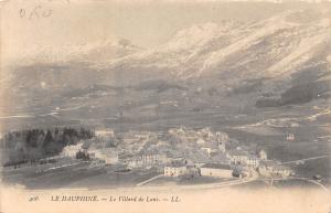 France Le Dauphine - Le Villard de Lans mountains, montagnes CPA