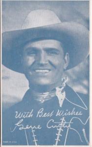 Vintage Cowboy Arcade Card Gene Curtis