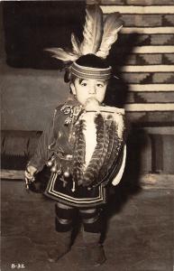 F62/ Native American Indian Photo RPPC Postcard 1951 Grand Canyon Arizona 19