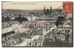 Old Postcard Nancy General view taken from St Epvre