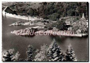 Modern Postcard On Alfeld Lake Dam and Monument