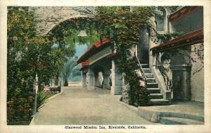 VINTAGE POSTCARD GLENWOOD MISSION INN RIVERSIDE CALIFORNIA CA