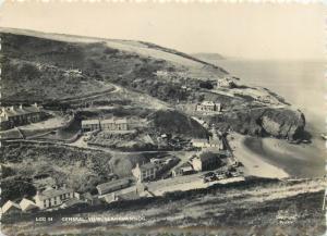 General view Llangrannog Wales Photo Postcard