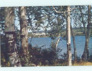 Pre-1980 RANGELEY LAKES HOTEL FROM MANOR POINT Rangeley Maine ME F7071