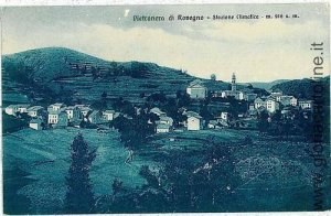 00045 CARTOLINA d'Epoca: GENOVA - PIETRANERA DI ROVEGNO