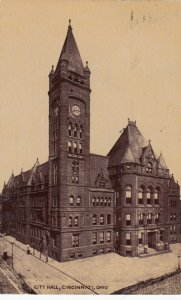 CINCINNATI , Ohio , PU-1909 ; City Hall