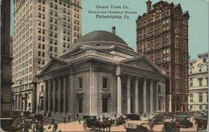 Girard Trust Co Broad& Chestnut St Postcard
