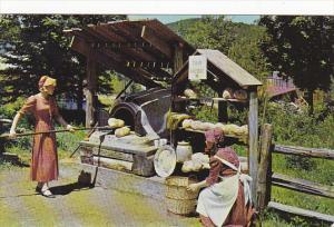 Canada Roadside Bread Oven Le Village De Seraphin Quebec
