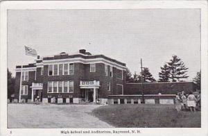 New Hampshire Raymound High School And Auditorium