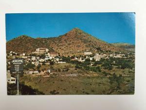 Lively Ghost City in Jerome ARIZONA 1973 Vintage Chrome Postcard
