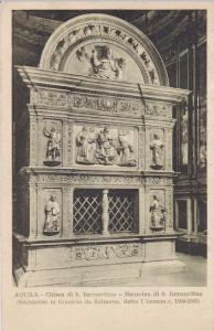 AQUILA, Chiesa di S. Bernanrdino, Mansoleo de S. Bernardino, Italy, PU-1892