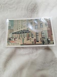 Antique Postcard, Hotel Woodstock