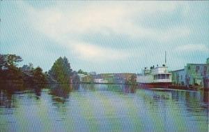 The Wicomico River At Salisbury Maryland