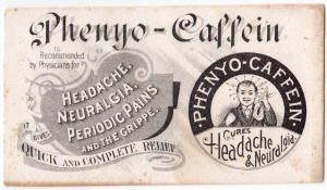 Phenyo - Caffein Cures Headache & Neuralgia