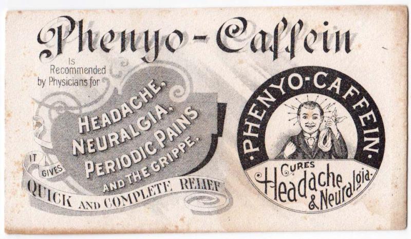 Phenyo - Caffein Cures Headache & Neuralgia