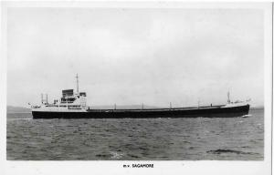 M.v. Sagamore Nautica Real Photo Postcard 01.21