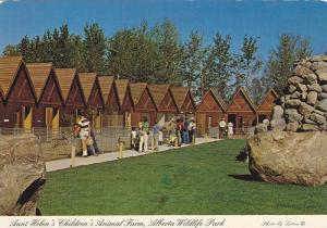 Inside Aunt Helen's Children's Animal Farm, Alberta Wildlife Park and the Red...