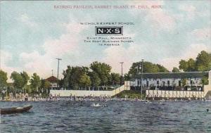 Minnesota Saint Paul Bathing Pavilion Harriet Island