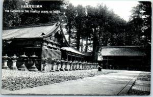 Vintage Nikko, JAPAN Postcard The Sanjinko in the Toshogu Shrine Unused