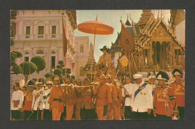 Thailand Royal Palaces & Buildings vintage postcards (10)