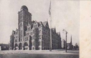 Boys´ High School, Philadelphia, Pennsylvania, 1900-1910s