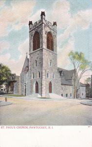PAWTUCKET , Rhode Island, 00-10s ; St. Paul's Church