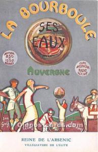 La Bourboule Reine De L'Arsenic Advertising Unused