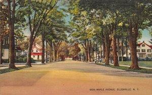 Maple Ave Ellenville, New York