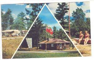 Pine Crest Tent & Trailor Park, Lake Huron , Ontario, Canada , 50-60s ; Trans-Ca