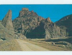 Pre-1980 COUNTRY ROAD Creede - Near Silverton & Del Norte Colorado CO AD6348