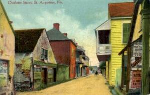 Charlotte Street St Augustine FL Unused