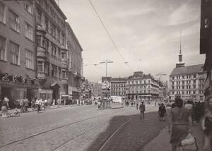 RP: BRNO , Czech Republic , 1940-50s ; Namesti Svobody
